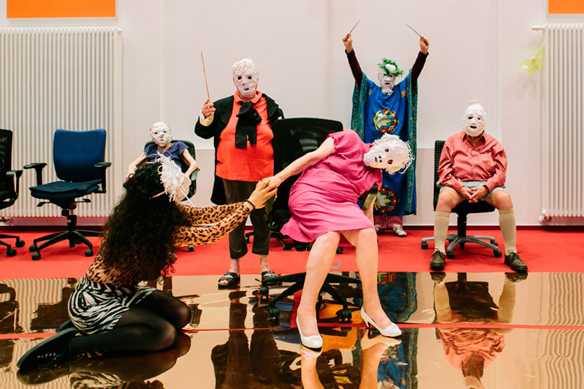 Gesichter Gruppenfoto Foto von Patricia Kalisch