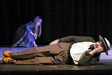Theater mit Menschen mit Behinderungen in Berlin - Kunst –                     Behinderung - Darsteller mit Behinderungen
